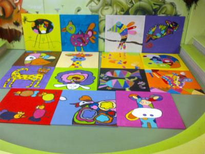 workshop schilderijen